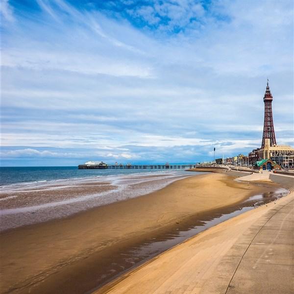 Blackpool in Spring