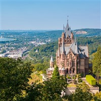 Rhine, Dragon's Castle & Wine