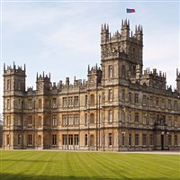 'Downton Abbey' Castle & Egyptians