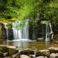 Breacon Beacons Waterfall
