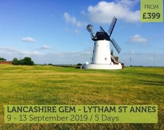 UK Coach Holiday Lancashire Lytham St Annes