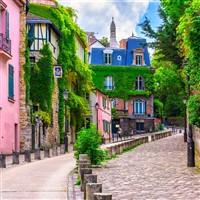 Paris Mont Martre Quarter