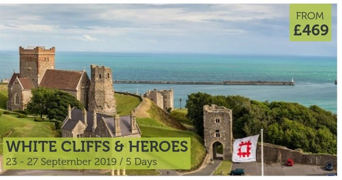 UK Coach Holiday White Cliffs & Heroes