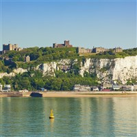 Dover White Cliffs and Castle